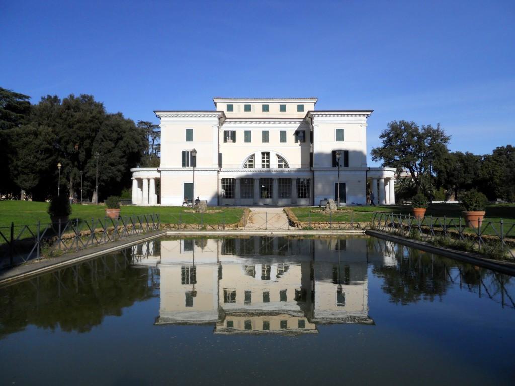 Veduta principale della Villa