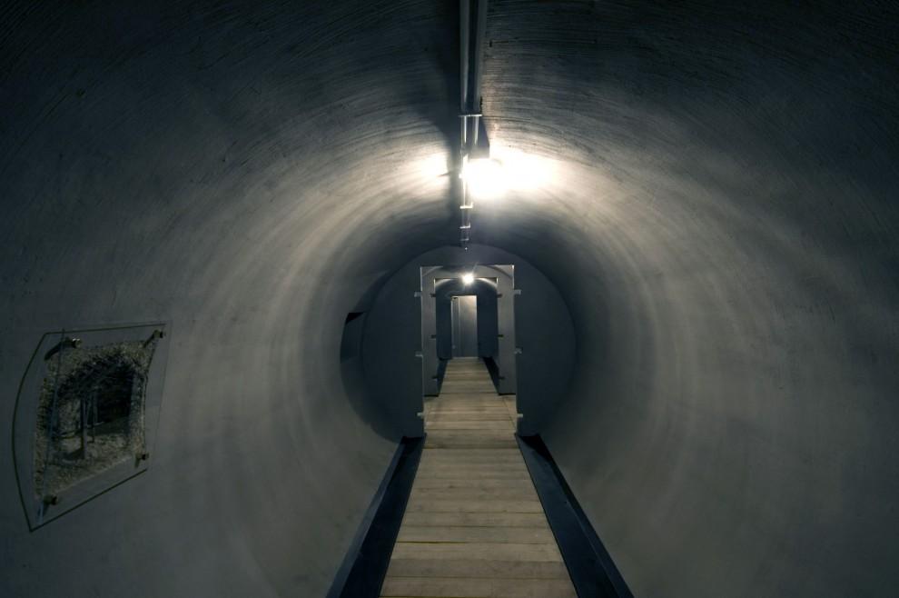 Il Bunker sotto Villa Torlonia, da poco accessibile al pubblico