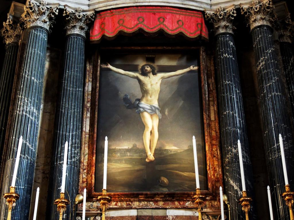 San Lorenzo in Lucina - Il Crocifisso di Guido Reni