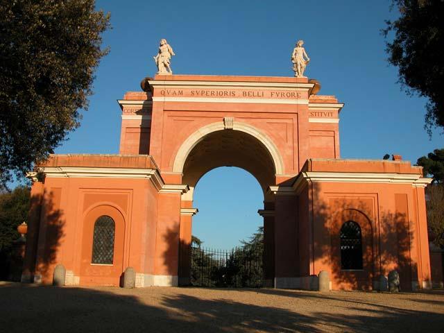Monumento ai Caduti a Villa Pamphili