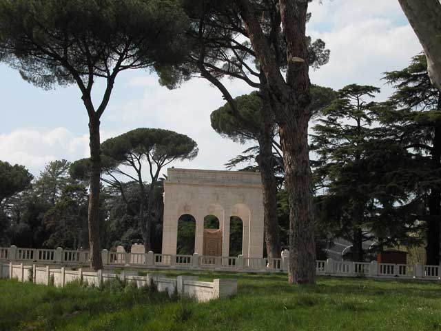 Monumento ai caduti al Gianicolo