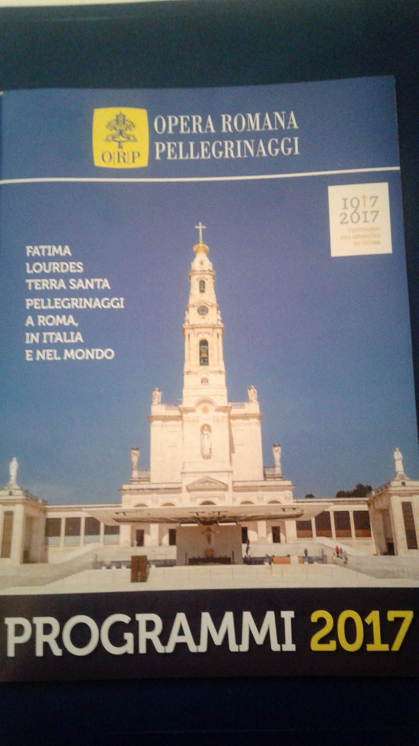Catalogo 2017 Opera Romana Pellegrinaggi