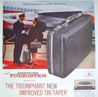 American Tourister - Pubblicità 1965