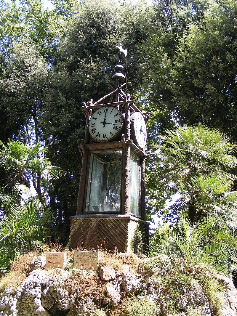 Orologio ad acqua del Pincio - foto Mattes