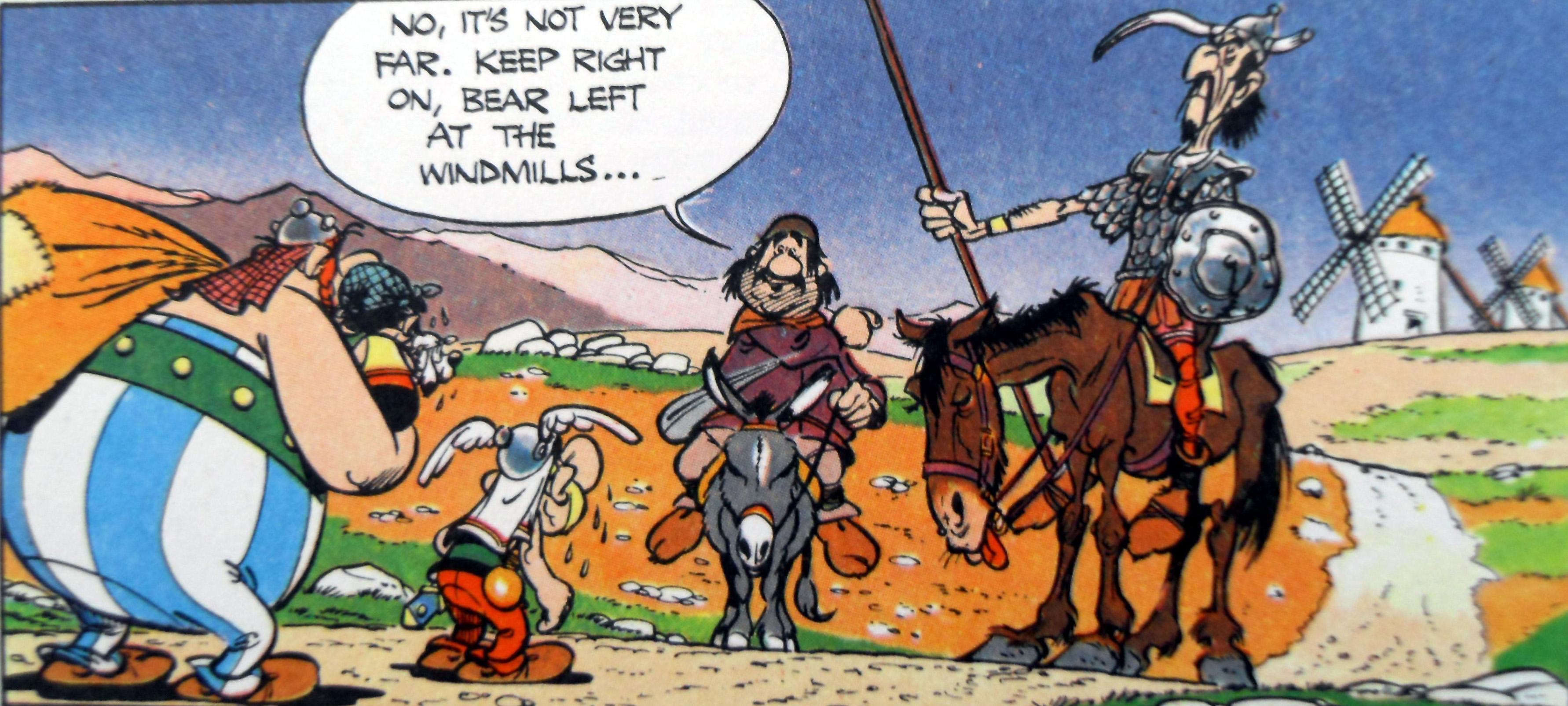 Strange Iberians...