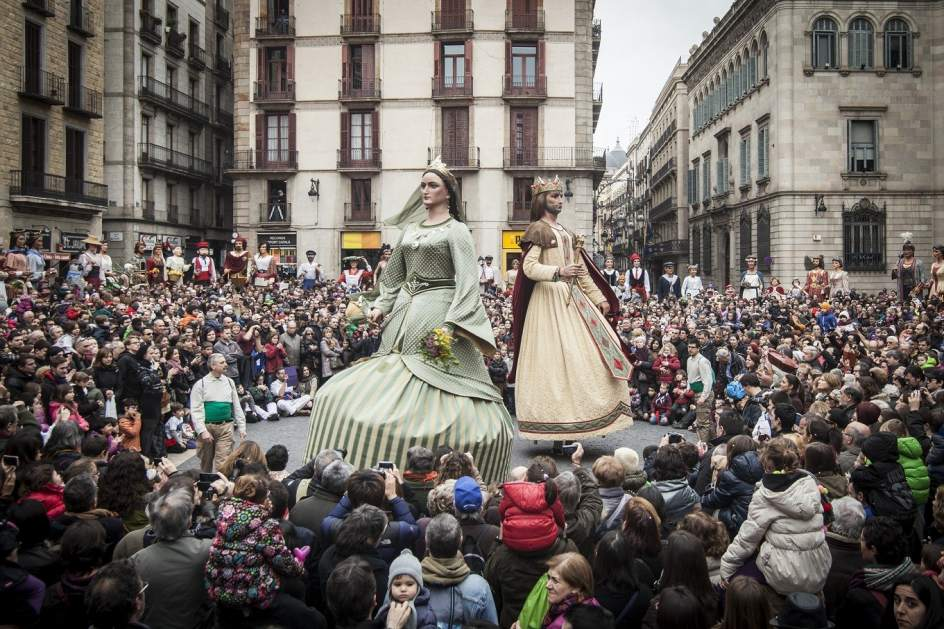 Sant'Eulalia, è festa a Barcelona!